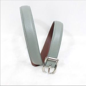 Authentic Coach women genuine leather belt